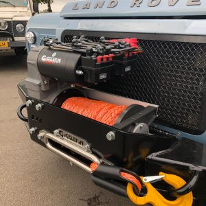 Winch electrical